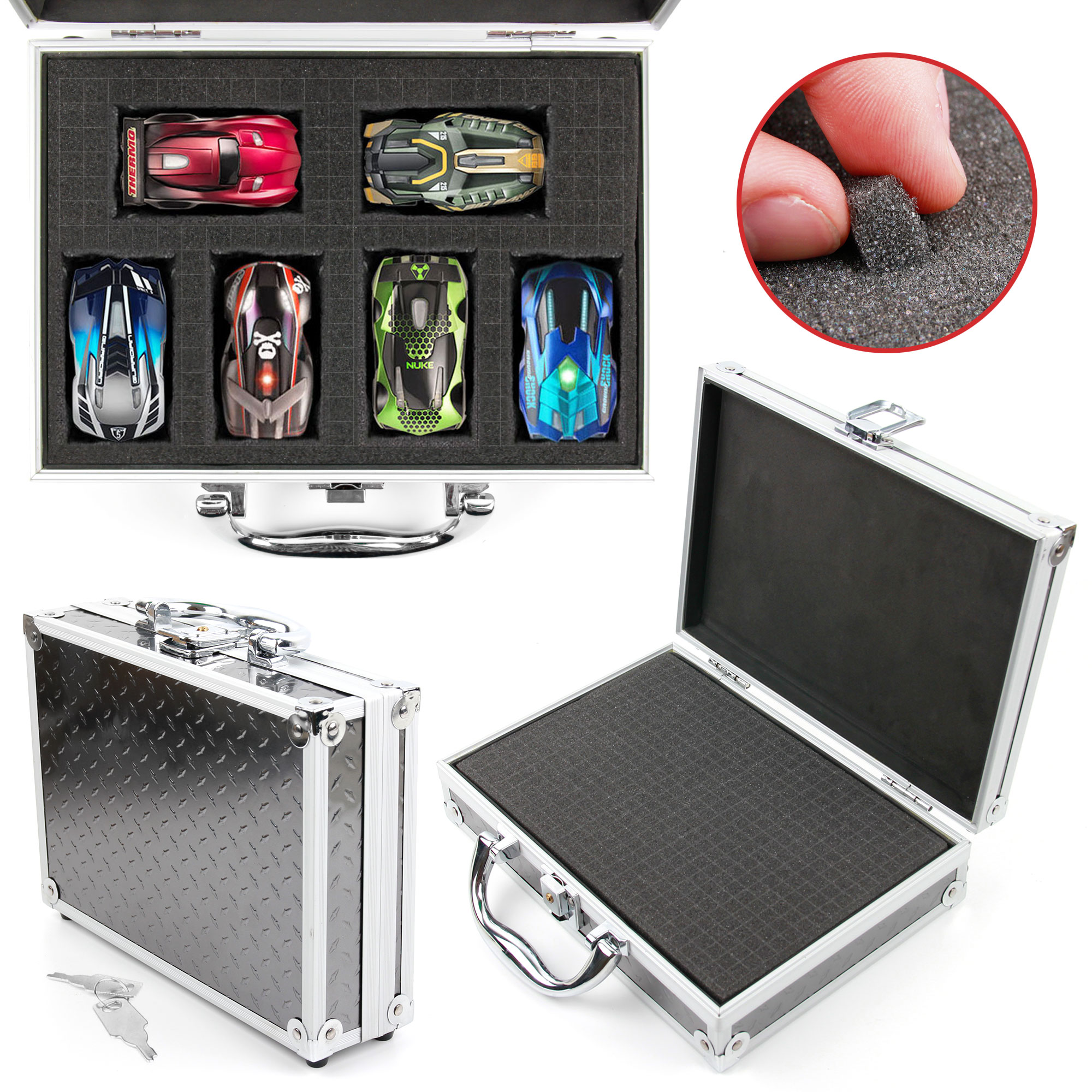flight case customizable foam interior for gopro hero 3 3 action camera ebay. Black Bedroom Furniture Sets. Home Design Ideas