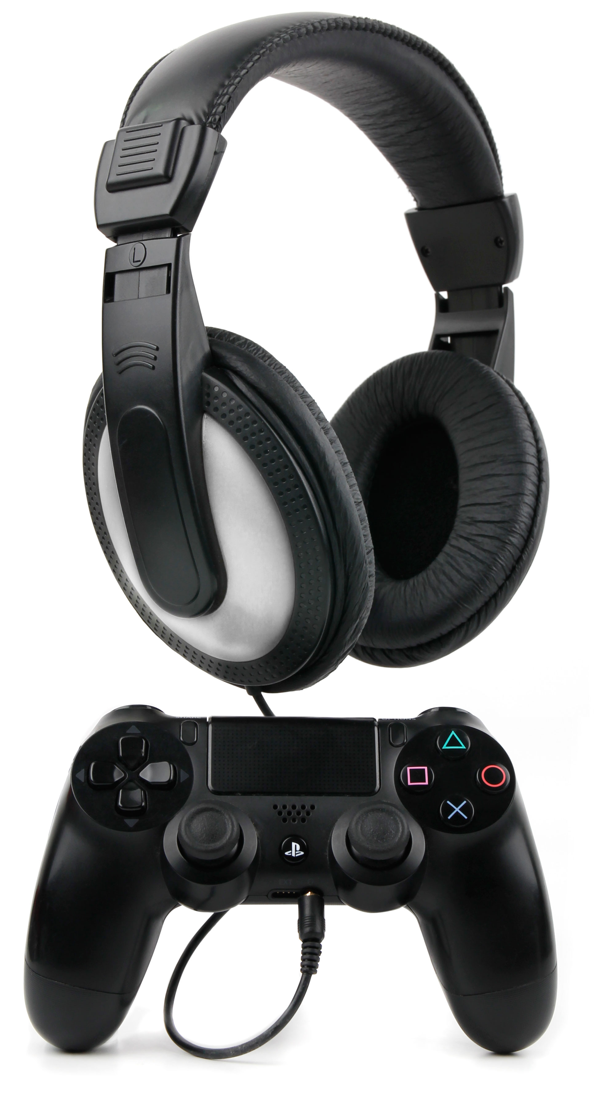 casque audio pour manette ps4 dual shock 4 sans fil sony playstation ebay. Black Bedroom Furniture Sets. Home Design Ideas