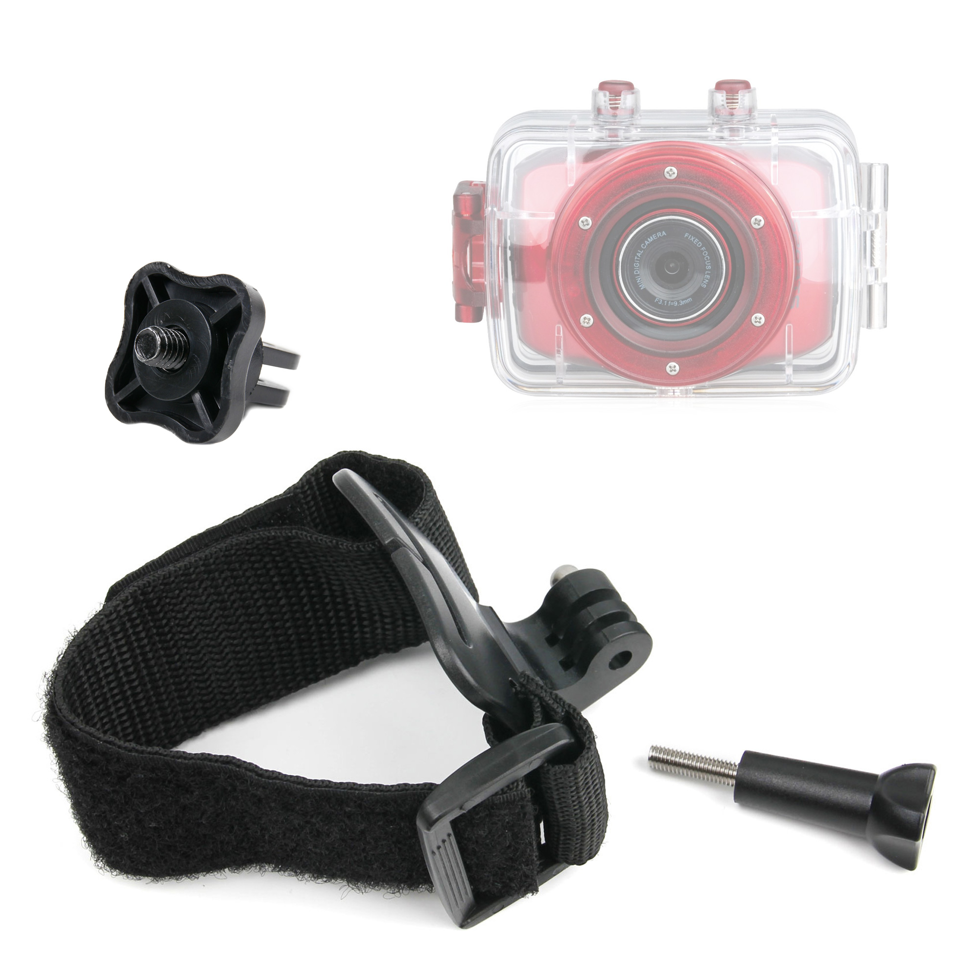 fixation poign e bracelet pour cam ra de sport cam scope gopro rollei pnj ebay. Black Bedroom Furniture Sets. Home Design Ideas