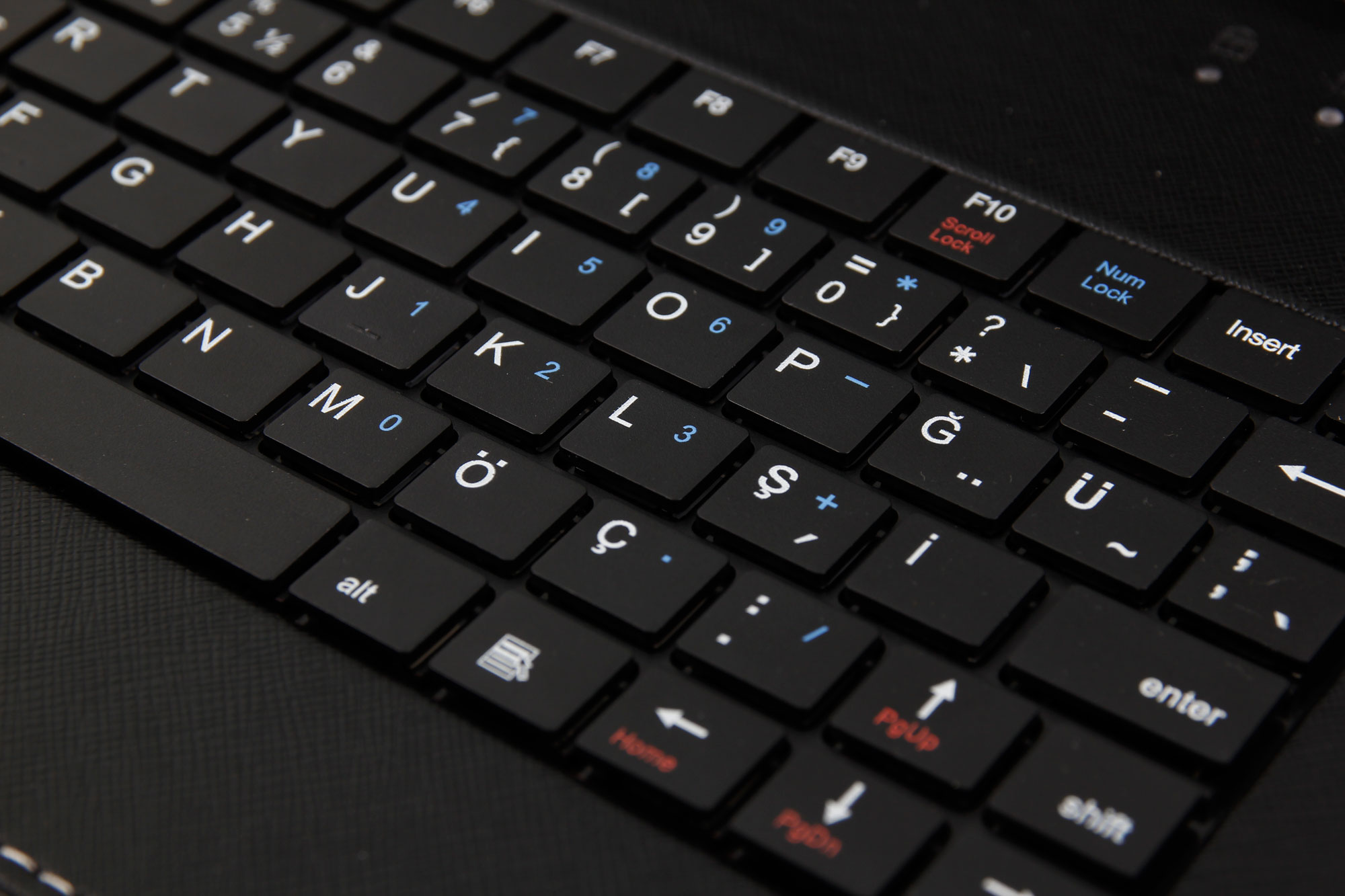 How can I write the Turkish letters on my English keyboard
