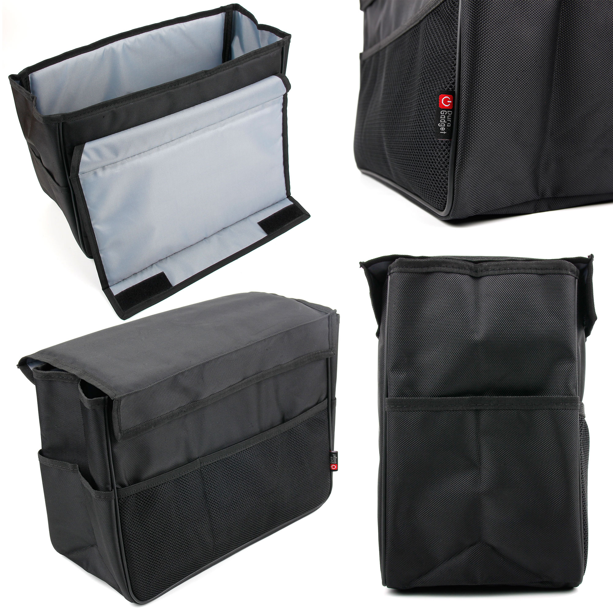 organisateur sac rangement de voiture pliable pour coffre ou si ge duragadget ebay. Black Bedroom Furniture Sets. Home Design Ideas